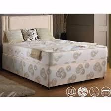 lovely white 4ft wooden bed frame u0026 spotless mattress in