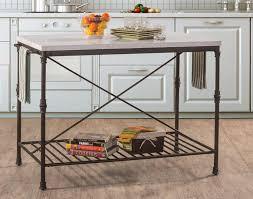 metal top kitchen island 28 metal top kitchen island kitchen carts matte warm silver