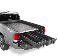 toyota tacoma bed rails toyota tacoma decked truck bed storage system