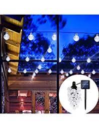 Solar Rv Awning Lights Amazon Com Easydecor Globe Solar String Lights 30 Led 21ft 8