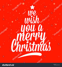 we wish you merry greetings stock vector 325694375