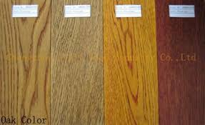 solid oak flooring stained color china manufacturer wood