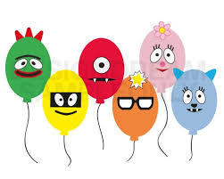 yo gabba muno foofa brobee toodee plex balloon face embell u2026 flickr