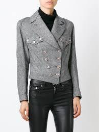 biker jacket women john galliano vintage tweed biker jacket women u0026 archive