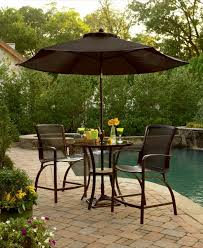 swimming pool table set with umbrella fascinating macys outdoor furniture brown patio umbrella wooden