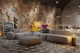 Foundation Dezin U0026 Decor Living Room With Unique Wall Textures