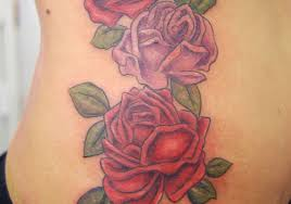 alluring rib cage rose tattoos creativefan