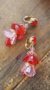 earrings hong kong vintage and pink chandelier dangle earrings hong kong