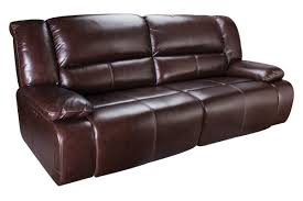 Couch Depth Amarillo Power Reclining Leather Sofa