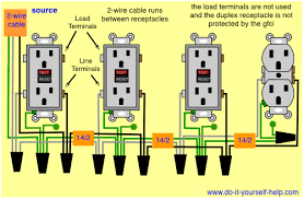 wiring diagrams for a gfci outlet do it yourself help com