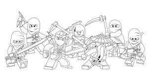 free coloring pages lego ninjago