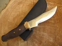 just custom knives skinning knife tag