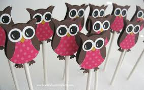 owl themed baby shower decorations owl cupcake toppers owl baby shower decorations owl birthday