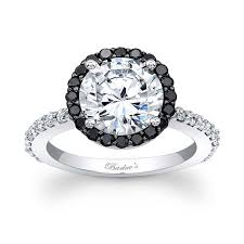 white and black diamond engagement rings barkev s black diamond halo engagement ring 7839lbk