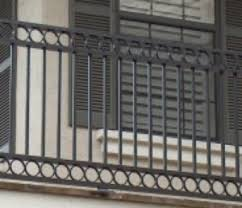 Balcony Banister Aluminum Railing Wrought Iron Stair Railing Drive Gates Cable