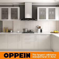 cuisine en forme de l la laque en forme de l moderne en bois cuisine modulaire des unités