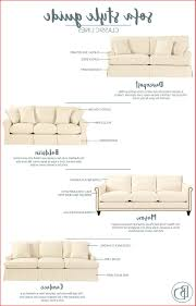 sofa arm styles lovely sofa style guide from ballard designs how