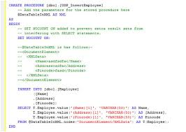 t sql insert into new table how to insert bulk records into sql server using xml data type in