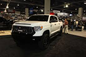 truck toyota 2015 giant custom trucks and suvs of sema 2015 rod network