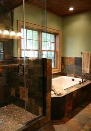 slate bathroom ideas 40 black slate bathroom tile ideas and pictures slate bathroom