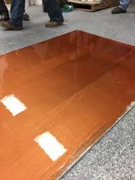 gravel flake epoxy floor prep crete