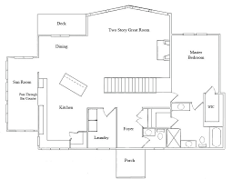 dining room floor plans great room kitchen floor plans small open kitchen and living room