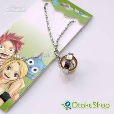 fairy pendant necklace images Wholesale fairy tail necklace double deck golden silver ring jpg