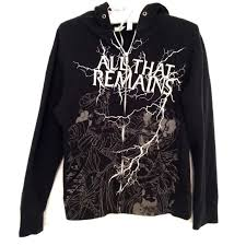 sold all that remains band hoodie m from amybee