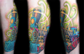 fantasy train by shad perlich tattoonow
