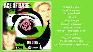 Photo Album Fo Ace Of Base The Sign 1993 Full Album Youtube
