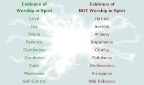 what does it to worship in spirit and