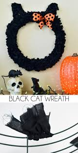 black cat wreath dream a little bigger