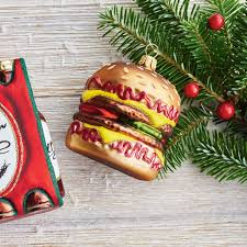 food themed tree ornaments popsugar food