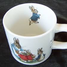 wedgewood rabbit wedgwood etruria barlaston beatrix potter designs rabbit cup