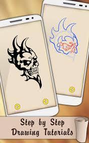 draw skull tattoos 1 0 apk androidappsapk co