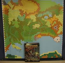 Pathfinder World Map by Product Review Using Banners On The Cheap For Maps Papers And