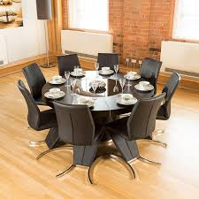Round Kitchen Table Seats  Of Including Large Dining Lazy Susan - Large round kitchen tables
