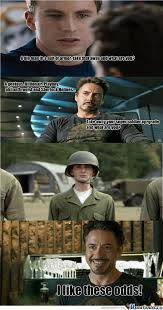 Show Me Meme - show me what you got captain skinny pants meme by tony stark