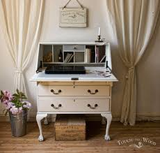shabby chic writing desk bureau no 15 touch the wood shabby