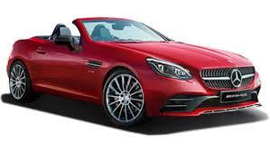 mercedes car mercedes slc price gst rates images mileage colours