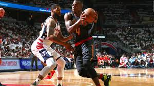 john wall sets frenetic pace for washington wizards in playoff