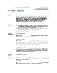 Sample Of Resume For Students In College by College Resume Format Uxhandy Com