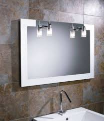 bathroom mirror lighting bathroom lighted mirror with led light