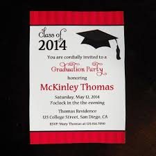 attractive graduation party invitation cards 83 for free templates