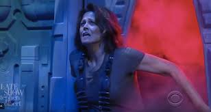 in which state is it illegal to dress up as a priest on halloween sigourney weaver is back as alien u0027s ripley on stephen colbert video