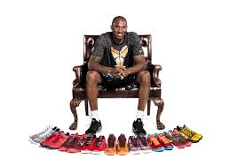 bryant has the most popular basketball shoe in the nba