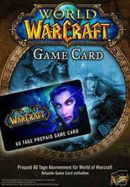 battlenet prepaid card offer 135766202 world of warcraft 60 day time card eu battle net