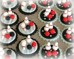 bowling cake toppers cupcake toppers sweet things
