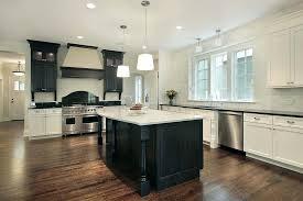 white kitchen black island u2013 fitbooster me
