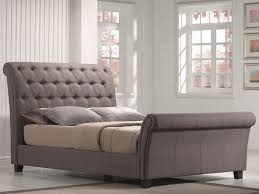 White King Bedroom Suite Bed Ideas Upholstered Tufted King Bed In Grey For Elegant